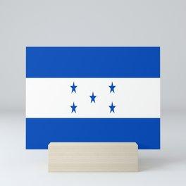flag honduras,america,latine,spanish,Honduran, Catracho,Mesoamerican,Tegucigalpa,San Pedro,Choloma Mini Art Print