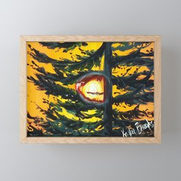 Follow the Light Framed Mini Art Print