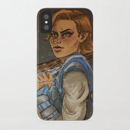 Lady Kima iPhone Case
