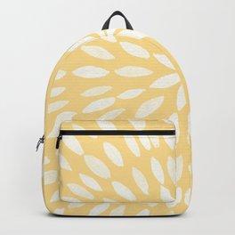 Mandala Flower #5 #yellow #drawing #decor #art #society6 Backpack