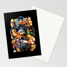 The Clan Warrior Stationery Cards