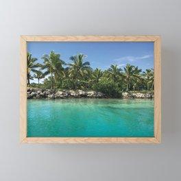 Tropical Waters Photograph Framed Mini Art Print