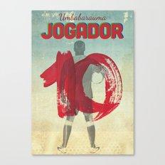 Color Soccer Canvas Print