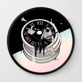 Immersed in Time Wall Clock