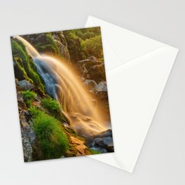 Glowing Loup of Fintry Waterfall Stationery Cards