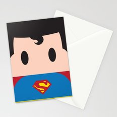 Superman Block Stationery Cards
