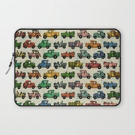 Old Timey Cars Laptop Sleeve