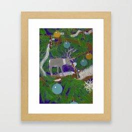 Christmas Connection Framed Art Print