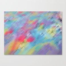 Wrinkle Pixel Canvas Print