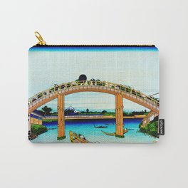 Mannen Bridge and Mount Fuji Carry-All Pouch