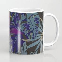 Hidden Tiger | Jungle Theme Design | Tropical Safari | Unique Jungle Print  Coffee Mug