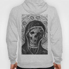 Rubino Vintage Retro Skull Metal Hoody