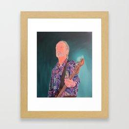 In The Moment - Steve Kilbey (The Church) Framed Art Print