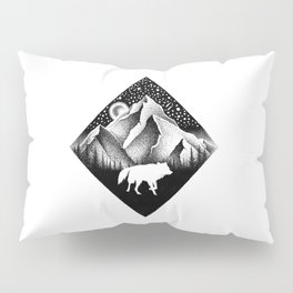 THE LONELY WOLF Pillow Sham