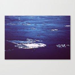 Frozen River 2 Canvas Print