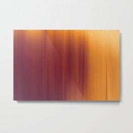 Red orange abstract background blur motion Metal Print