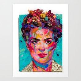 FRIDA Kahlo painting Kunstdrucke