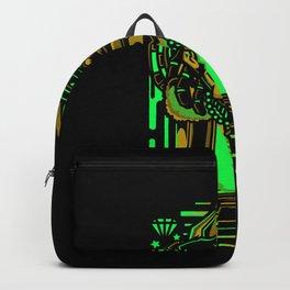 Chillier dreadlocks rapper gift motif design Backpack