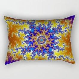 Fractal Checkerboard Rectangular Pillow