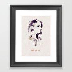 Dream Tonight Framed Art Print