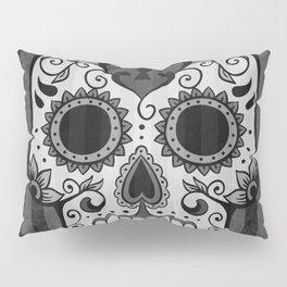 Día de los Muertos - Grey Pillow Sham