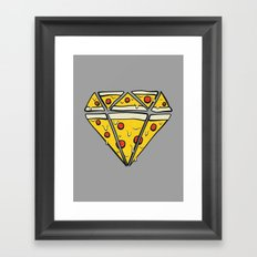 Pizzas are Forever Framed Art Print