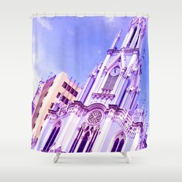God can do anything. Shower Curtain