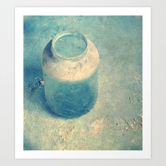 old glass Art Print