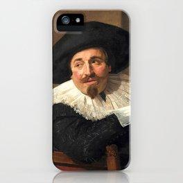 "Frans Hals ""Portrait of Isaac Abrahamsz"" iPhone Case"