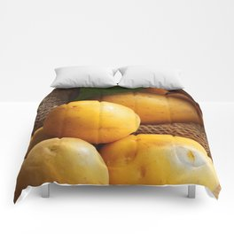 Farmer potato for your Design in the kitchen Comforters