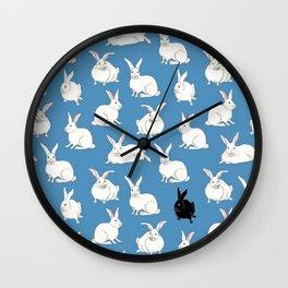 rabbit pattern Wall Clock