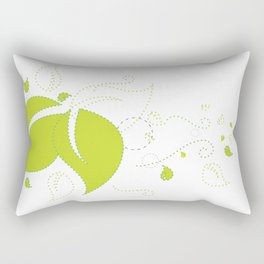 Blowing Leaves Rectangular Pillow