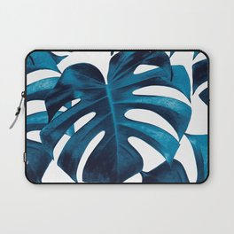 Tropical Monstera Leaves Dream #8 #tropical #decor #art #society6 Laptop Sleeve