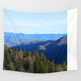 Blue Mountain Majesty Wall Tapestry