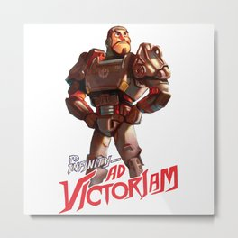 Fallout 4: To Infinity – Ad Victoriam Metal Print