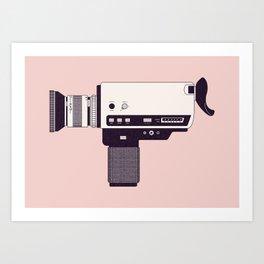 Super 8 Vintage Camera Art Print
