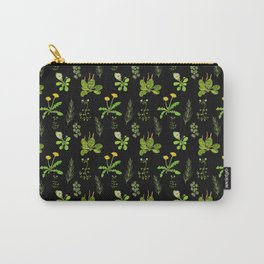 Lovely Weeds By Night Carry-All Pouch