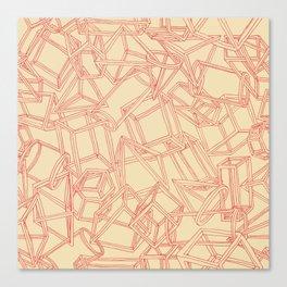 Geojumble One Canvas Print