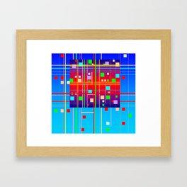 New Year's Framed Art Print