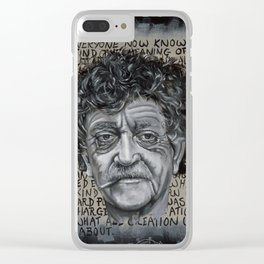 Man Without a Country Clear iPhone Case