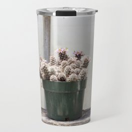 Three Little Cacti Travel Mug