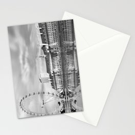 London Eye and River Thames Stationery Cards
