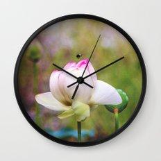 Lotus Life Wall Clock