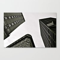 boston Canvas Prints featuring boston  by Anna Malafronte