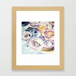 Jazz Night Framed Art Print