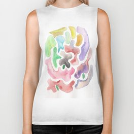 171115  Colour Shape 5 |shapes art design |abstract shapes art design inspiration Biker Tank
