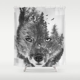 The Wild and the Wilderness II Shower Curtain