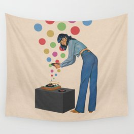 Music is My Life Wall Tapestry