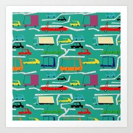 la traffic Art Print