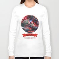 league of legends Long Sleeve T-shirts featuring League Of Legends - Nocturne by TheDrawingDuo